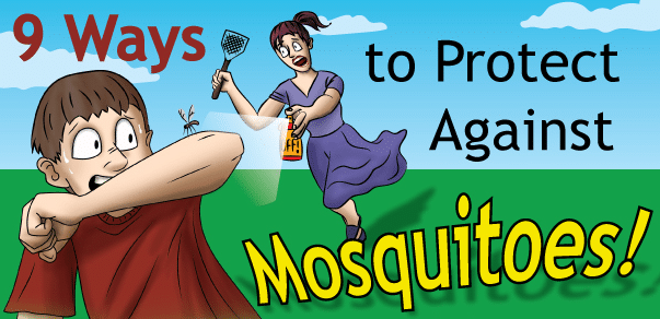 9 ways to prevent mosquito bites